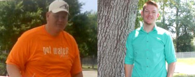 Five years ago, Jeremy Davis weighed 410 pounds. (Jeremy Davis)