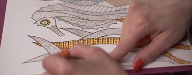 Inside the adult coloring book craze. (Yahoo/Katie Couric)