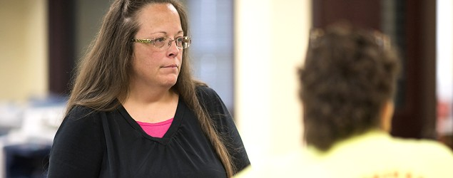 Kentucky County Clerk Kim Davis. (Getty Images)