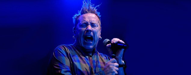 John Lydon leads Public Image Ltd. in a 2013 concert in Italy. (Roberto Serra/Getty Images)