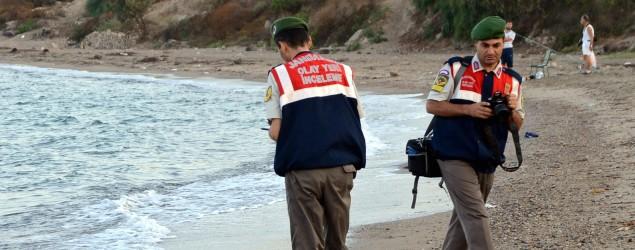 Ertrunkenes syrisches Flüchtlingskind, Bild: dpa