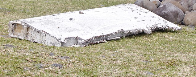 France confirms wing part is from MH370. (AP)