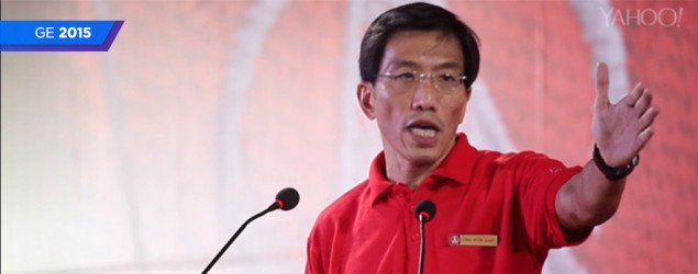 Chee Soon Juan's first rally in 15 years... and he rocked it