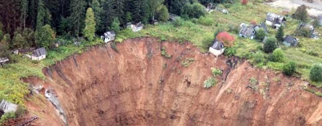 Sinkhole in Russia (CEN)