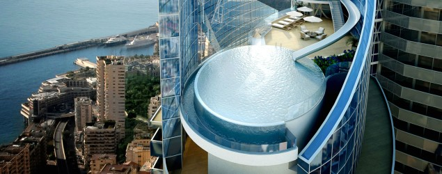 The world's most expensive penthouse comes with a water slide