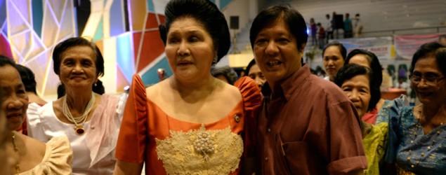 AFP Photo: Ferdinand Marcos Jr and mother Imelda