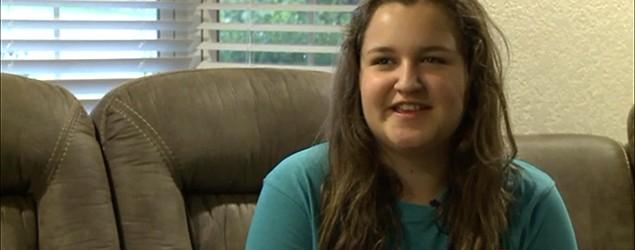 Teen's shirt lands her in hot water at school