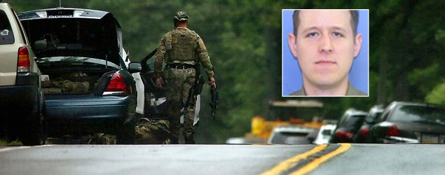 Hunt for accused Pa. cop killer intensifies