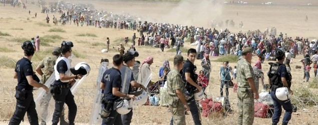 60,000 flee Syria over Islamic State fears