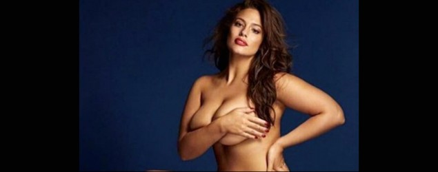 Ashley Graham gets naked for steamy magazine shoot