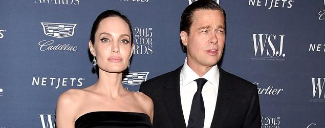 Angelina Jolie and Brad Pitt (Dimitrios Kambouris/Getty Images)