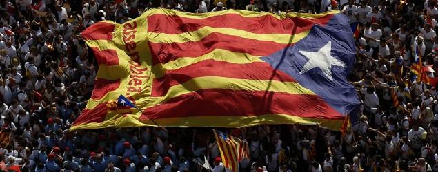 La bandera estelada (AP)