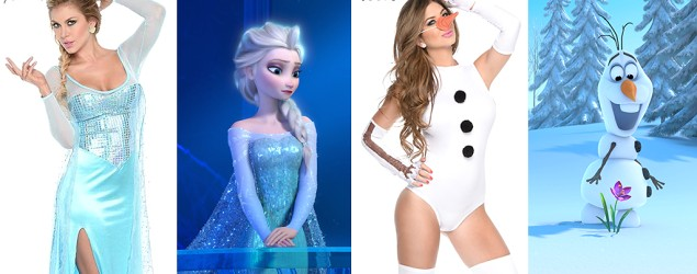 Sexy 'Frozen' costumes? Yes, they're real