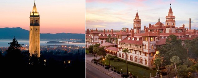 America's most beautiful college campuses