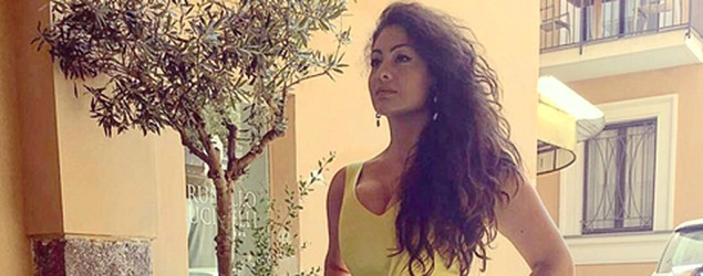 Size 14 beauty queen Paola Torrente. (Facebook)