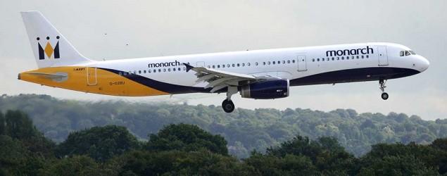 A Monarch plane (PA)