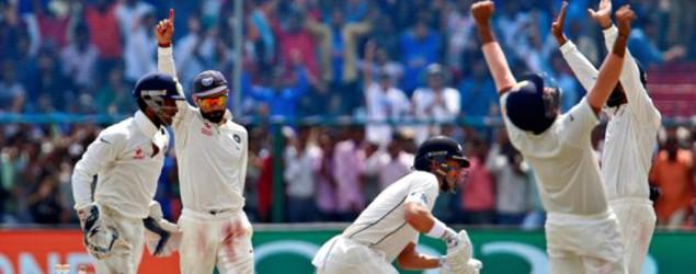 Scores: India vs New Zealand