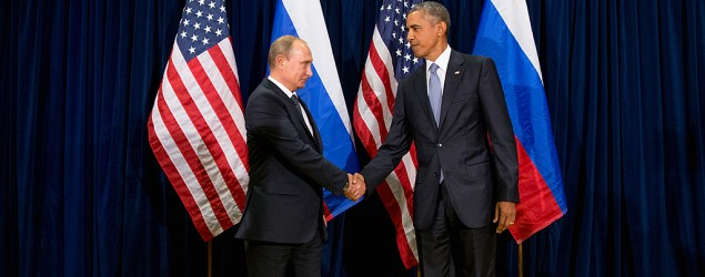 Russian President Vladimir Putin meets with President Obama. (AP)