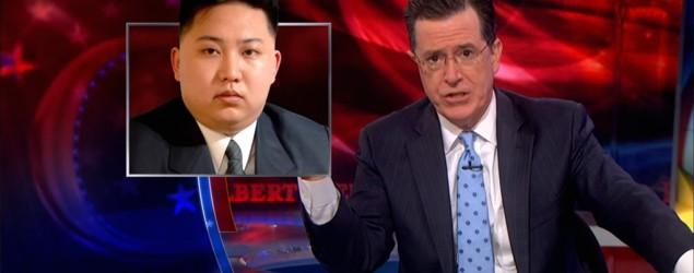 Colbert mocks Kim Jong Un's risky 'obsession'