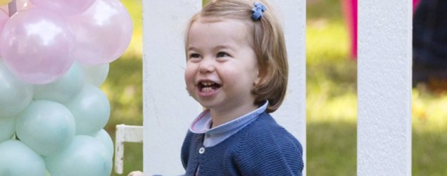 People can't get enough of this video of Princess Charlotte