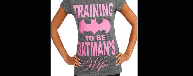 Controversy brewing over Batman T-shirt. (Walmart)