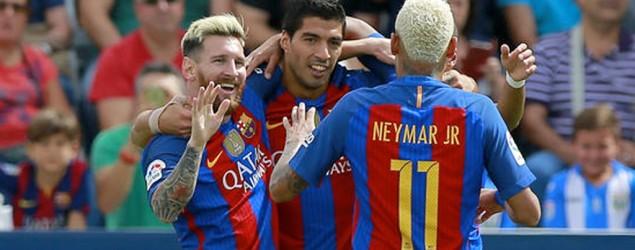 Messi, Suárez y Neymar (90Min)