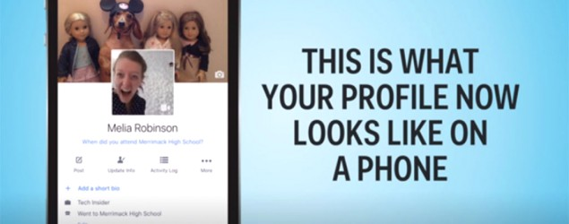 Your Facebook profile will look different soon