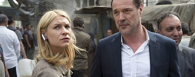 Claire Danes in 'Homeland.' (Showtime)