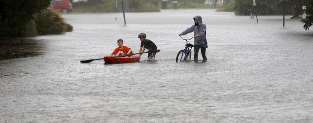 East Coast storm brings misery to South Carolina. (AP)