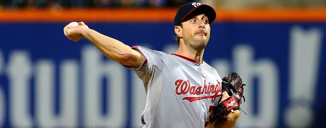 Washington Nationals pitcher Max Scherzer throws second no-hitter of the season. (Reuters)