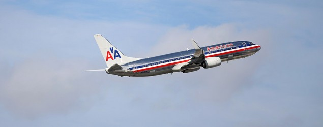 An American Airlines plane. (Getty Images)