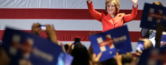 Clinton may not excite, but she still gets support