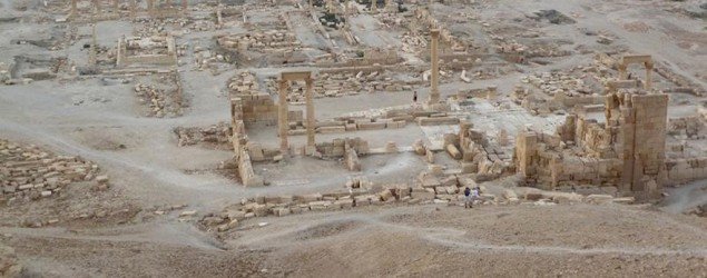 Islamic State blows up ancient monument in Roman city. (Reuters)