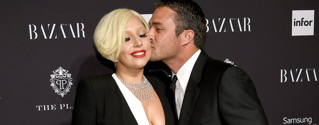 Lady Gaga and Taylor Kinney. (Getty Images)