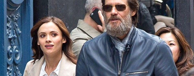 Jim Carrey's girlfriend, Cathriona White, was married when she died. (FameFlynet)