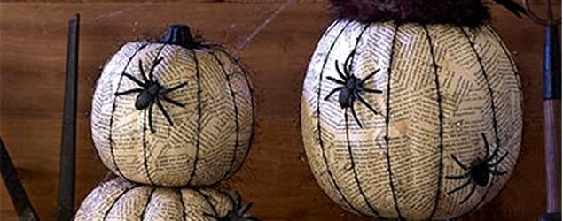 No-carve pumpkin ideas for Halloween. (DakotaCreekChic)