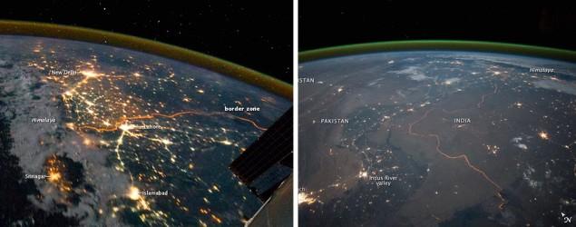 NASA releases amazing photos of Indo-Pak border