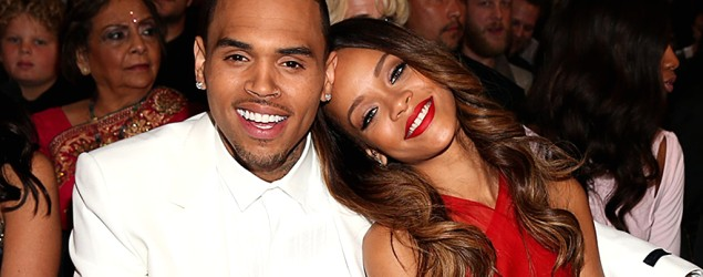 Rihanna on why she got back together with Chris Brown. (Getty Images)