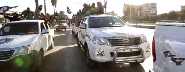 How did IS militants get so many Toyota trucks? (ABC News)