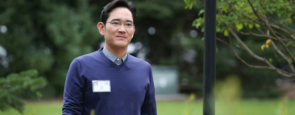 Jay Lee, president and chief executive officer of Samsung Electronics, attends the Allen & Company Sun Valley Conference on July 11, 2015 in Sun Valley, Idaho. (AFP)