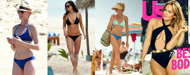 Celebs over 40 prove that bikini bods get better with age
