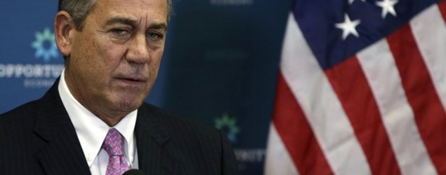 John Boehner is unlikely to leave the House speaker's chair by Oct. 30. (Reuters)