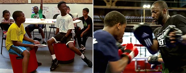 Detroit's Downtown Boxing Gym. (Yahoo TV)