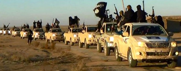 ISIS Toyota. AP.