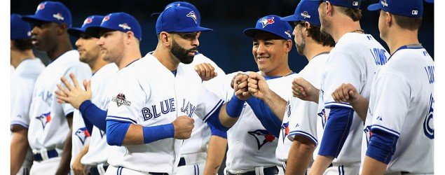 Toronto Blue Jays players. (Getty Images)