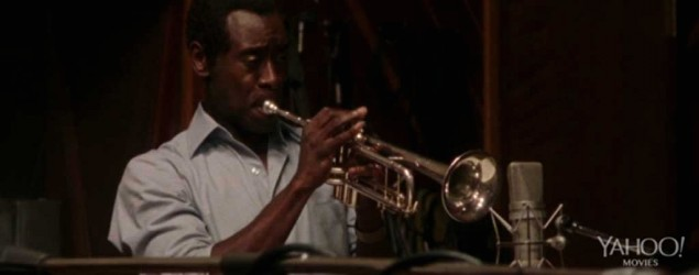First footage of Don Cheadle as Miles Davis