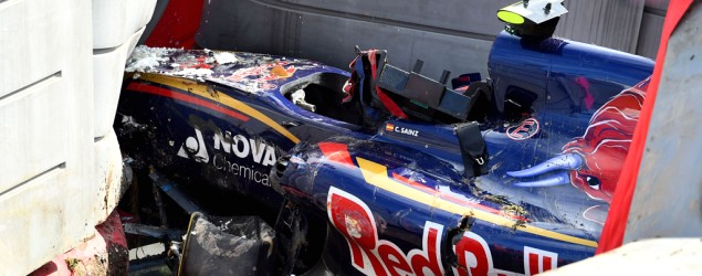 Sainz Jr Unfall (Bild: Getty Images)