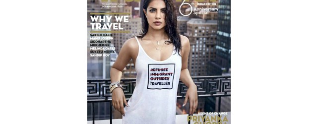 Should Priyanka have worn this tee in her cover photo?