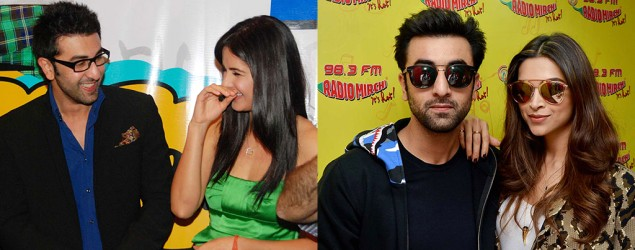 Picking an Ex: Would Ranbir pick Deepika or Katrina?