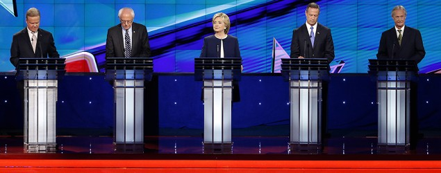 Breaking down the Democratic debate. (AP)